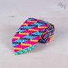 Corbata infantil Wax Kuvale: colorida y confeccionada con tela wax africana